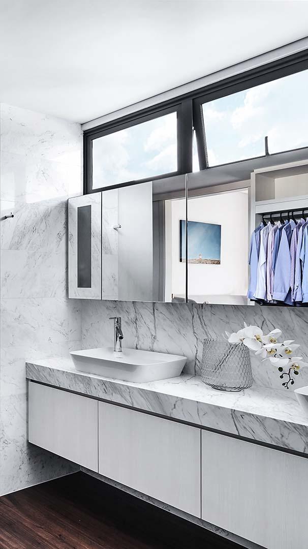 Bathroom Vanity, Mirror Cabinet 4