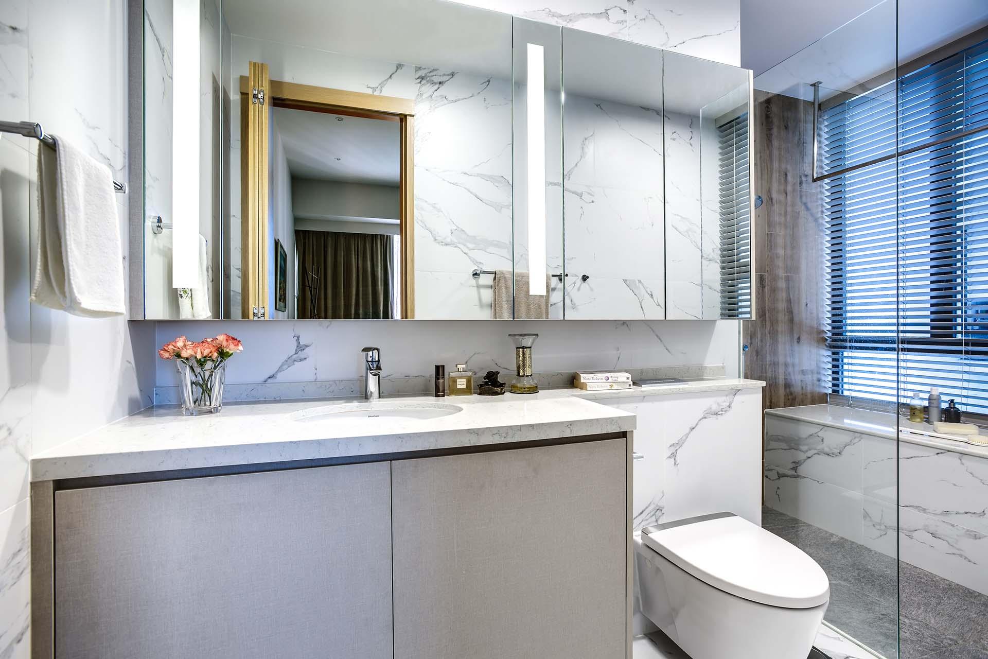 Bathroom Vanity, Mirror Cabinet