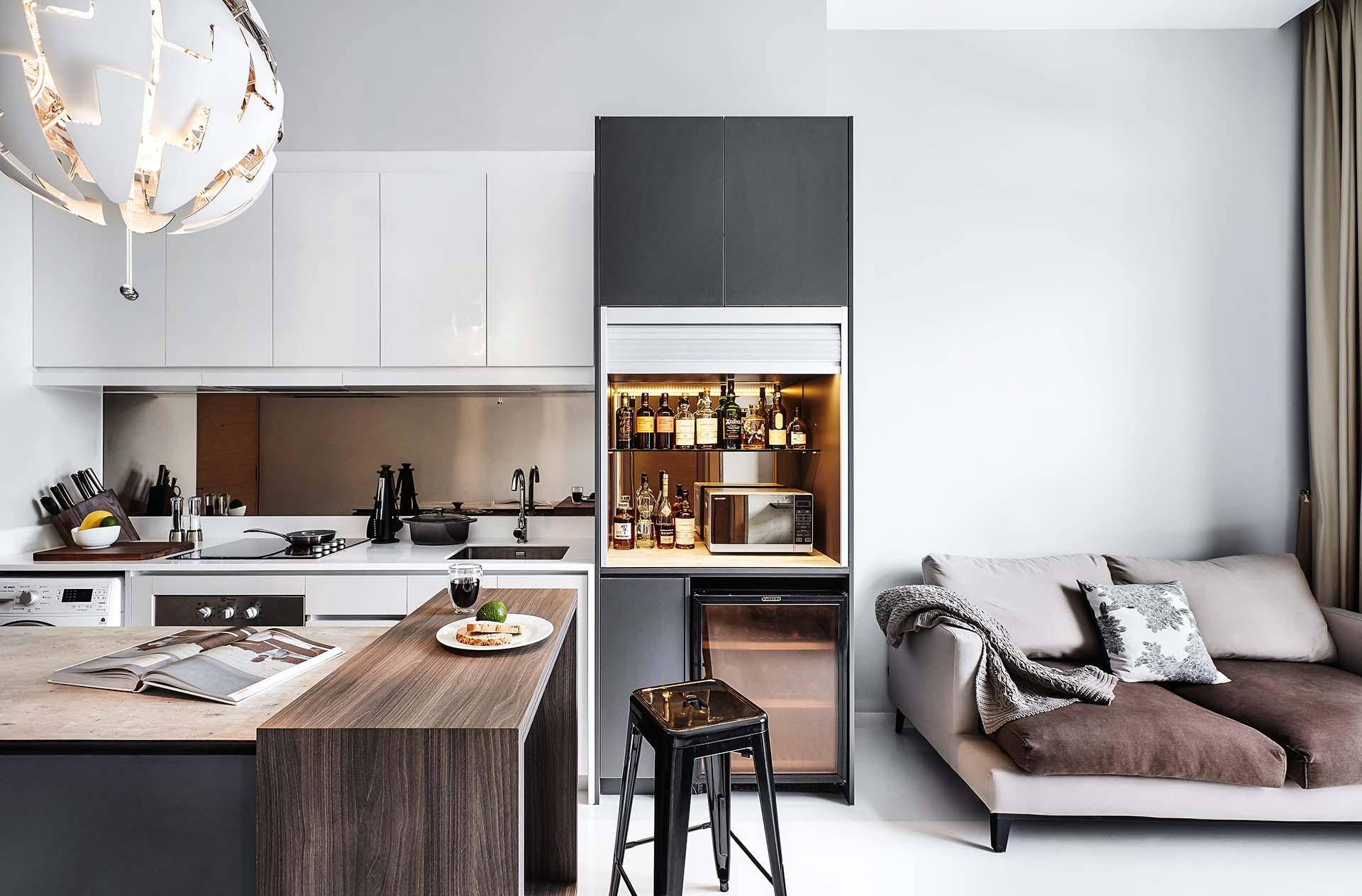 Kitchen, Kitchen Island, Bar Counter
